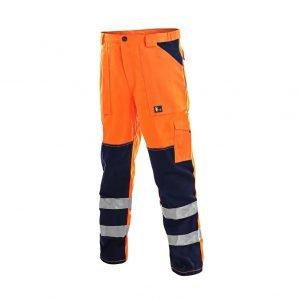 Spodnie-do-pasa-odzież-robocza-odzież-ostrzegawcza-CXS-Canis-Norwich-Pomarańczowe