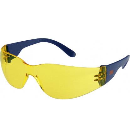 okulary_ochronne_3M_2722_żółte_ochrona_wzroku_antyfogg_niezaparujące_odporne_na_zarysowania